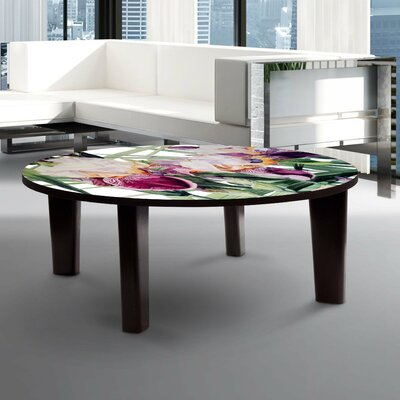 Iris Vivaldi Spring Coffee Table Size: 13 H x 44 W x 44 D