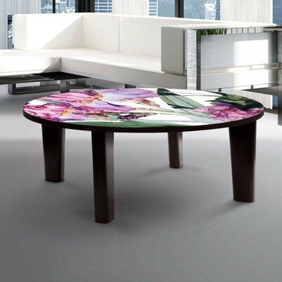 Iris Grace Coffee Table Size: 13 H x 44 W x 44 D