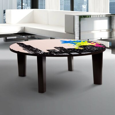 City Vibes 2 Coffee Table Size: 13 H x 44 W x 44 D