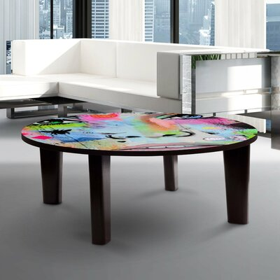 Hello Coffee Table Size: 13 H x 35 W x 35 D
