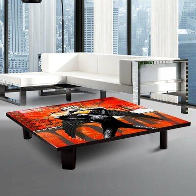 "Coffee Table Size: 7"" H x 35"" W x 35"" D TAF-AT-S-ZAN-009A15"