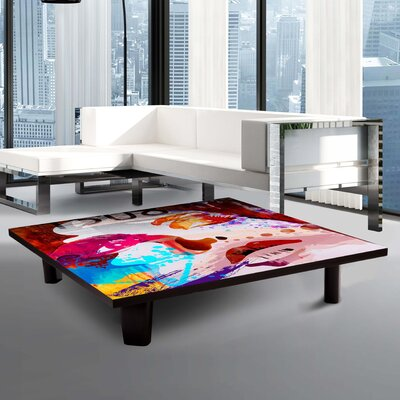 Coffee Table Size: 7 H x 35 W x 35 D