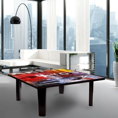 Coffee Table Size: 13 H x 35 W x 35 D