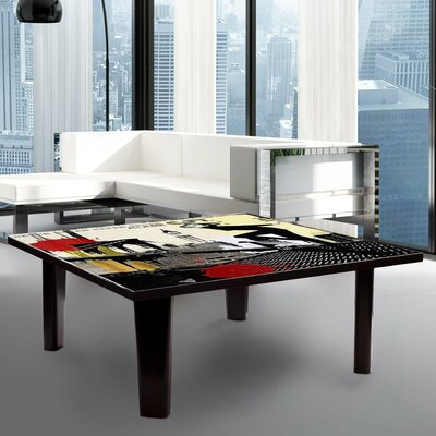 Coffee Table Size: 13 H x 44 W x 44 D