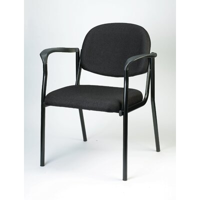 Dakota Side Chair Seat Color: Black