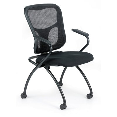 Flip Guest Chair (Set of 2) Arm Options: With Arms