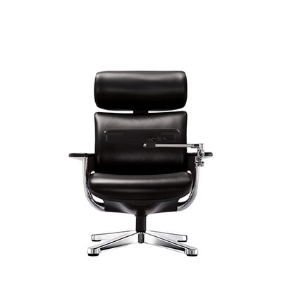Precious High Back Leather Desk Chair Product Photo