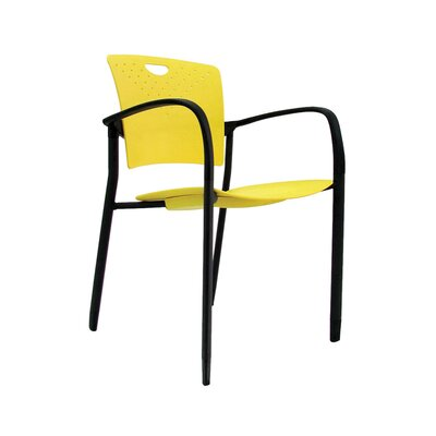 Staq Guest Chair (Set of 4) Finish: Yellow
