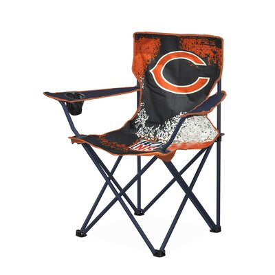 NFL Kids Camping Chair with Cup Holder NFL Team: Chicago Bears NK980307