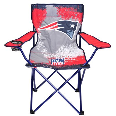 NFL Kids Camping Chair with Cup Holder NFL Team: New England Patriots NK980229