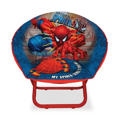Character Toddler Kids Saucer Chair in Spider-Man WN200238