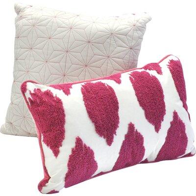 Deliah Ikat 2 Piece Cotton Decorative Pillow Set