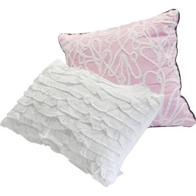 Twilight Eden 2 Piece Cotton Decorative Pillow Set