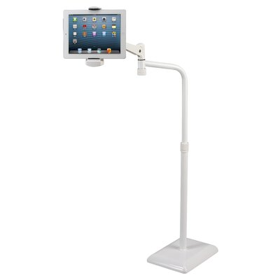 Height Adjustable 360 Degree Rotating Floor Tablet Stand