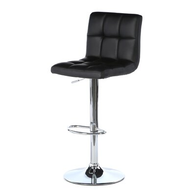 Full Back Adjustable Height Swivel Bar Stool