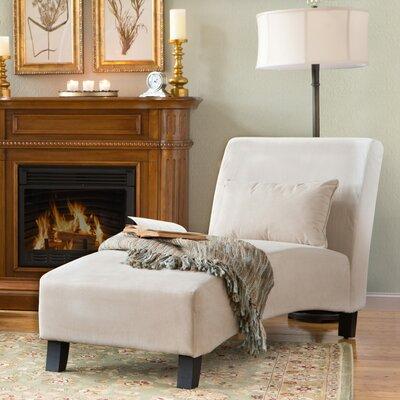 Georgina Chaise Lounge Upholstery: Khaki
