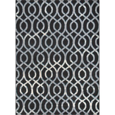 Jenna Hand Tufted Gray/Dark Brown Area Rug Rug Size: Rectangle 710 x 106