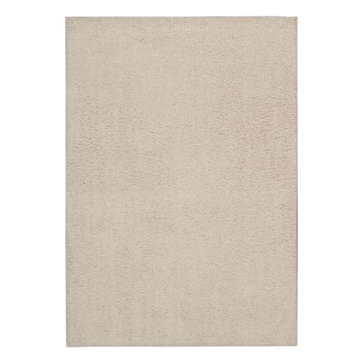 Shibata White Area Rug Rug Size: Rectangle 32 x 5