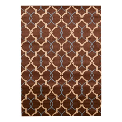Dina Brown Area Rug Rug Size: 311 x 53