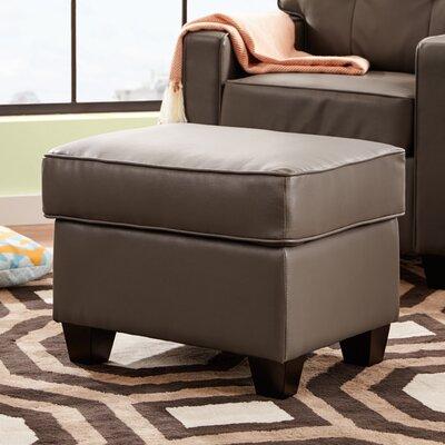 Ella Ottoman Upholstery: Grey