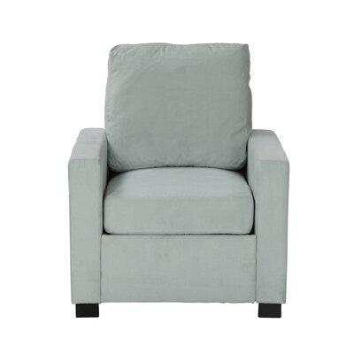 Gracie Armchair Upholstery: Sky Blue