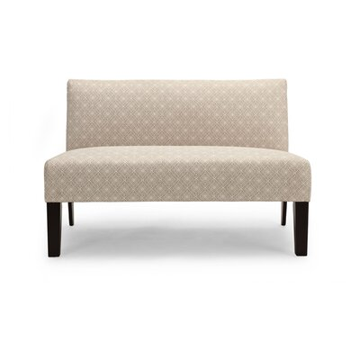 Doreen Estates Doreen Loveseat Upholstery: Platinum