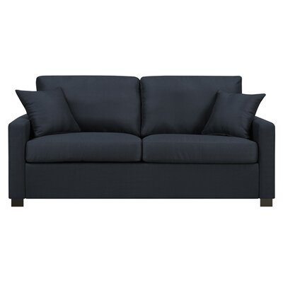 Earlene Sofa Upholstery: Navy