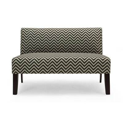Selena Loveseat Upholstery: Grey