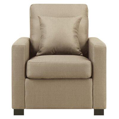 Earlene Armchair Color: Wheat