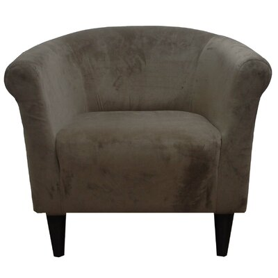 Liam Barrel Chair Upholstery: Mocha