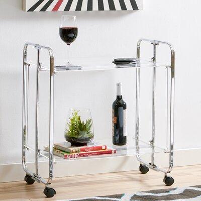 Latitude Run Ema Bar Cart