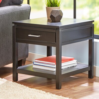 Delavan End Table With Storage