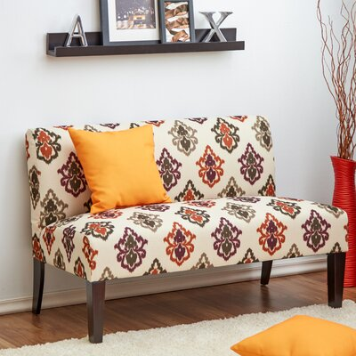 Zimmerman Settee Color: Kismet Spice