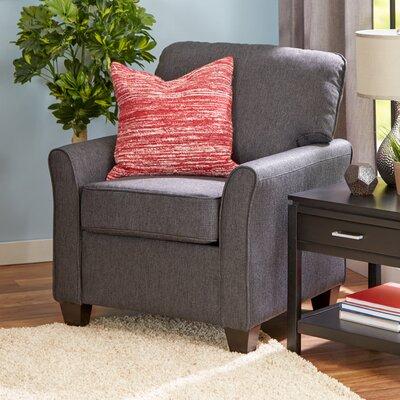 Aubrey Armchair Upholstery: Grey
