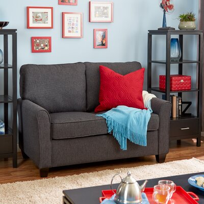 Aubrey Loveseat Upholstery: Wheat