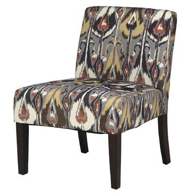 Margaret Patterned Slipper Chair Upholstery: Ikat