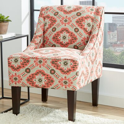 Lucy Ikat Swoop Side Chair