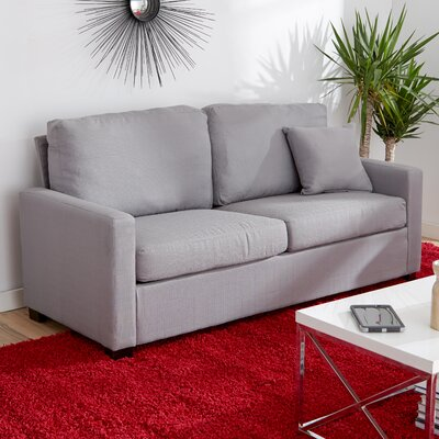 Earlene Sofa Upholstery: Platinum