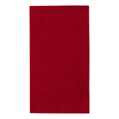 Alexis Red Area Rug Rug Size: 5 x 7