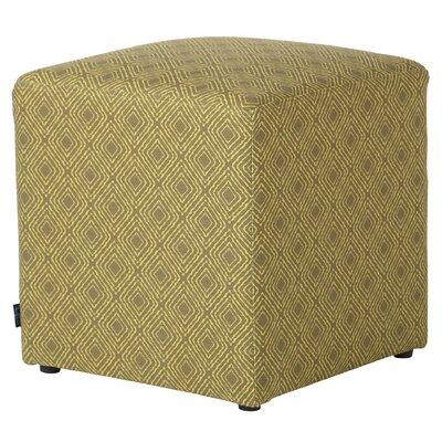 Jillian Cube Ottoman Upholstery: Jungle