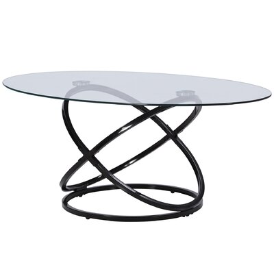 Shelly Coffee Table Set of 3 Finish: Black