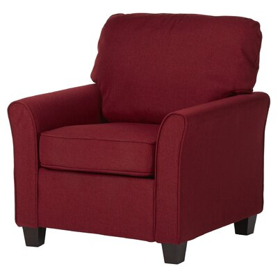 Hartell Armchair Upholstery: Red