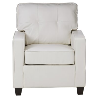 Ella Armchair Upholstery: Bright White