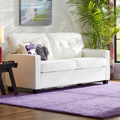 Ella Sofa Upholstery: White