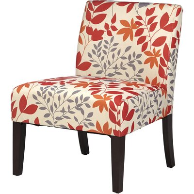 Margaret Slipper Chair Upholstery: Autumn Leaves