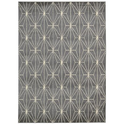 Margery Gray Area Rug Rug Size: Rectangle 53 x 73