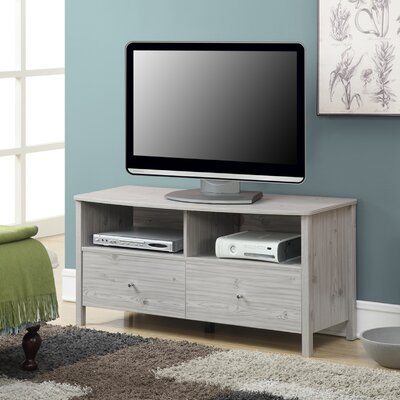 Monica TV Stand Finish: Silver Oak