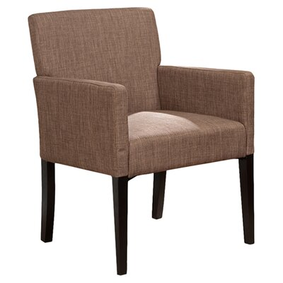 Bea Armchair Color: Brown