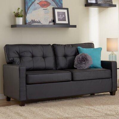 Ella Sofa Upholstery: Black