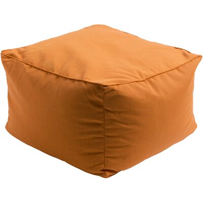 Paula Pouf Upholstery: Burnt Orange